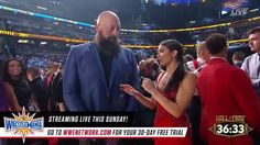 What is Big Show most looking forward to at this year's WWE Hall of Fame ceremony, LIVE on WWE Network?