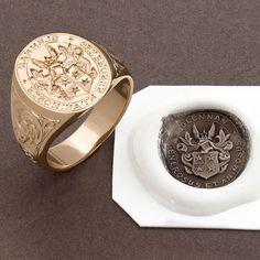 Here at John W Thompson in Sydney we offer a range of signet rings