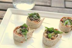 Rustic Peach: Korean bbq Tortilla Rolls