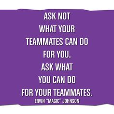 Playmakers help make their teammates better! What You Can Do, How To Make, Magic Johnson, Volleyball, Motivational, Cards Against Humanity, Quotes, Sports, Qoutes