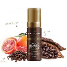 Přírodní samoopalovací pěna - Cacao Firming Mousse Eco by Sonya Bronzer, Grapefruit, Aloe Vera, Mousse, Shampoo, Aqua, Bob, Bottle, Beauty