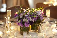 www.jenniferdavisphotography.com #centerpiece #purplecenterpiece