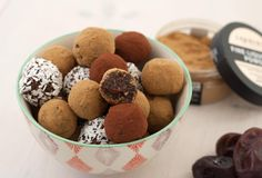 Homemade Delicious Date Balls with Licorice