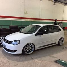 Vw Polo Modified, Polo Classic, Volkswagen Polo, Vw Cars, Lamborghini Aventador, Custom Cars, Golf, Vehicles, Motorcycles