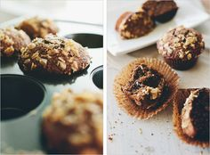BROWN BUTTER ESPRESSO CHIP MUFFINS - SPROUTED KITCHEN - A Tastier Take on Whole Foods