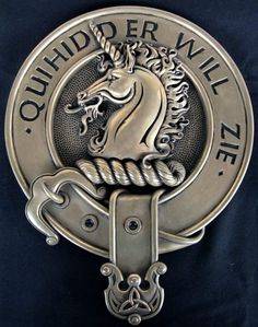 stewart of Appin | Clan Stewart of Appin Crest Badge Cold Cast Bronze Wall…