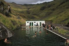 iceland mineral pool