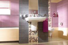 Płytki łazienkowe - Firletka Szafirek - też w podobnym stylu