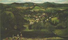 View of Selemecbánya - Tivadar Kosztka Csontvary