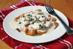 sweet potato gnocchi!