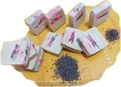 Lavender Misty Fields soap by Eleni