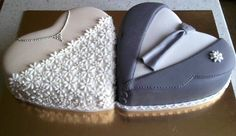 Image search result for a heart shaped wedding cake Big Cakes, Just Cakes, Fancy Cakes, Heart Shaped Wedding Cakes, Heart Shaped Cakes, Pretty Cakes, Beautiful Cakes, Fondant Cakes, Cupcake Cakes
