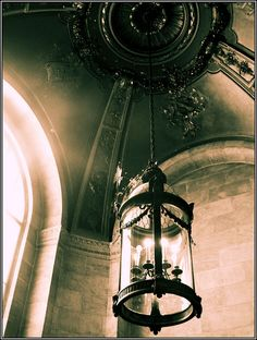 New York Public Library - Lamp