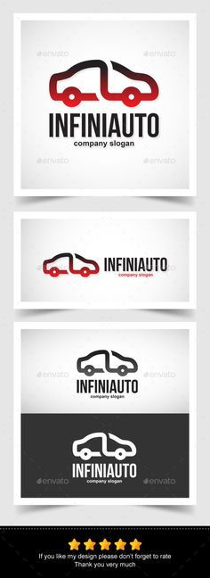 Infinity Auto Logo — Vector EPS #automotive #line • Available here → https://graphicriver.net/item/infinity-auto-logo/13581024?ref=pxcr