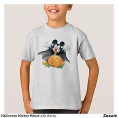 Halloween Mickey Mouse 1. Producto disponible en tienda Zazzle. Vestuario, moda. Product available in Zazzle store. Fashion wardrobe. Regalos, Gifts. #camiseta #tshirt