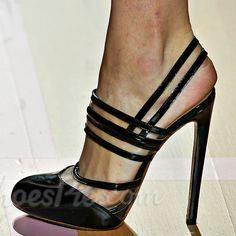 Must Have! Shoespie Black Slingback Dress Sandals #elegantshoegirl #shoes #ankle  #boots #flats #fashions #womens