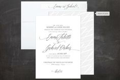 Wedding Invitations + Free Guest Addressing | Minted