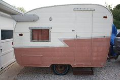 1964 Shasta Compact. Just brought this one home. Learn more about her on the blog. http://www.littlevintagetrailer.com