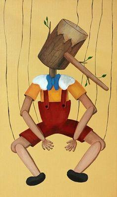 "I painted animation series!- ""Symbol of animation""  12th!! - Pinocchio  I'll make calendars. Please expect them!    #몽차 #Pinocchio #피노키오 #아크릴 #mongcha #fantasytales #acrylic #illustration #painting #그림동화  #animation"
