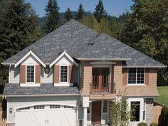 Tamko Rustic Black Shingles Rent House Renovation