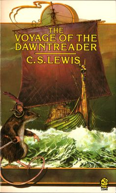 The Voyage of the Dawn Treader by C. Lewis, Chronicles of Narnia, Paperback Book. Science Fiction, Non Fiction, Chronicles Of Narnia Books, The Magicians Nephew, Lion Book, Art Viewer, Mystery, Romance, Losing Friends