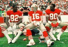 The Legends - John Taylor, Joe Montana, Jerry Rice