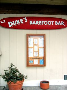 Duke's Restaurant in Huntington Beach,California