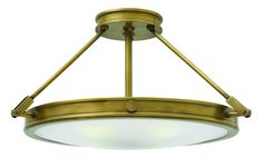 View the Hinkley Lighting 3382 4 Light Semi-Flush Ceiling Fixture from the Collier Collection at LightingDirect.com.