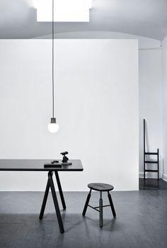 #interior #monochrome #lifestyle #homedecor #decor #design #kitchen #seating #lighting