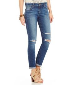 Joe´s Jeans Addison Distressed Skinny Ankle Jeans #Dillards