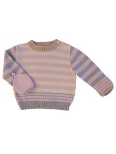 Multi Stripe Smitten Sweater