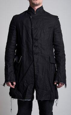Elena Dawson (Men) Linen Coat (Lined with Cotton)