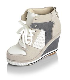 Holly Shoes Wedge High-Top Sneaker - http://www.yesstyle.com/en/holly-shoes-wedge-high-top-sneaker/info.html/pid.1030280226