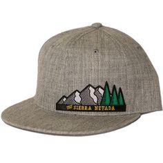 b5ae069aa60 The Sierra Nevada Snapback Hat - Heather Grey