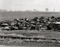 Antique Junk Yards | History Old Time Junk Yard Photos PIX 1920 to 1970 - THE H.A.M.B.