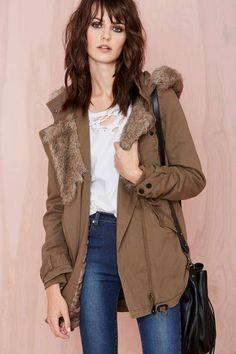 Army Anorak - Jackets + Coats