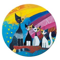 Rosina Wachtmeister - Taschenspiegel - Under the Rainbow - Katzen