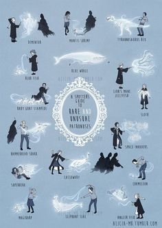 Rare and Unusual Patronuses #ihappyshop