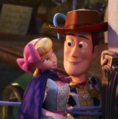 *bo peep x sheriff woody pride* Walt Disney, Disney Toys, Disney Fun, Disney Pixar, Disney Stuff, Sheriff Woody, Otp, Toy Story Movie, Disney Animated Movies