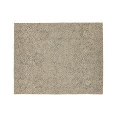 Trystan Indigo Wool-Blend 8'x10' Rug | Crate and Barrel