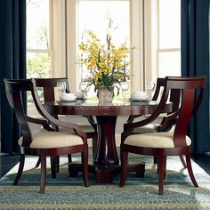 Cresta Round Dining Room Set