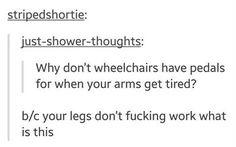 Wheelchairs, tumblr funny