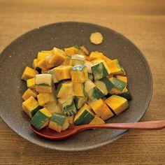 かぼちゃのごまクリーム|レシピ|ゆとりの空間オフィシャルサイト