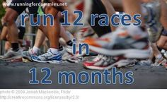 RUNNING FOR DUMMIES: Twelve Months of Races - Recap in Pictures