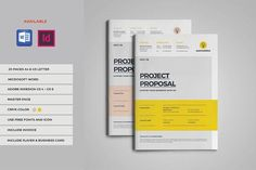 Project Proposal by inthesign on @creativemarket