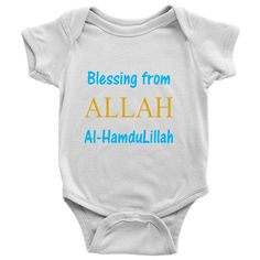 Blessing Baby Onesie {9 colors}