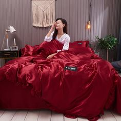 King Bed Sheets, King Beds, Royal Bed, Satin Bedding, Silk Sheets, Luxury Duvet Covers, Bedclothes, Flat Bed, Bed Linen Sets