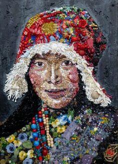 "Jane Perkins *Blue Bowerbird ""Tibetan Woman"""