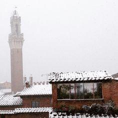 Neve su #Siena
