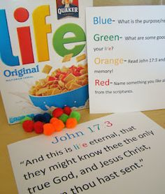 Sofia's Primary Ideas: FHE: LIFE this blog is filled with great primary ideas